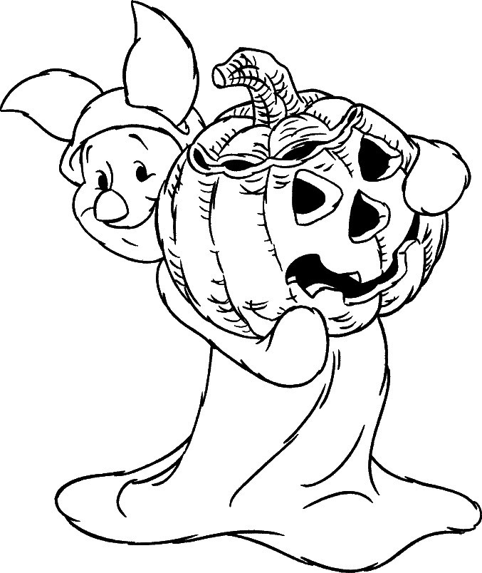 Halloween Coloring Pages To Print  24 Free Printable Halloween Coloring Pages for Kids