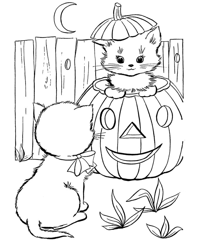 Halloween Coloring Pages To Print  halloween coloring pages Free Printable Halloween