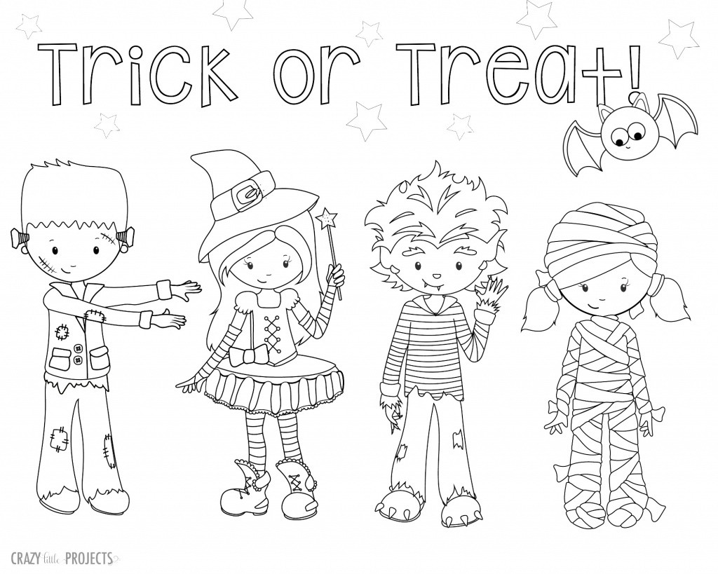 Halloween Coloring Pages To Print  FREE Halloween Coloring Pages for Adults & Kids