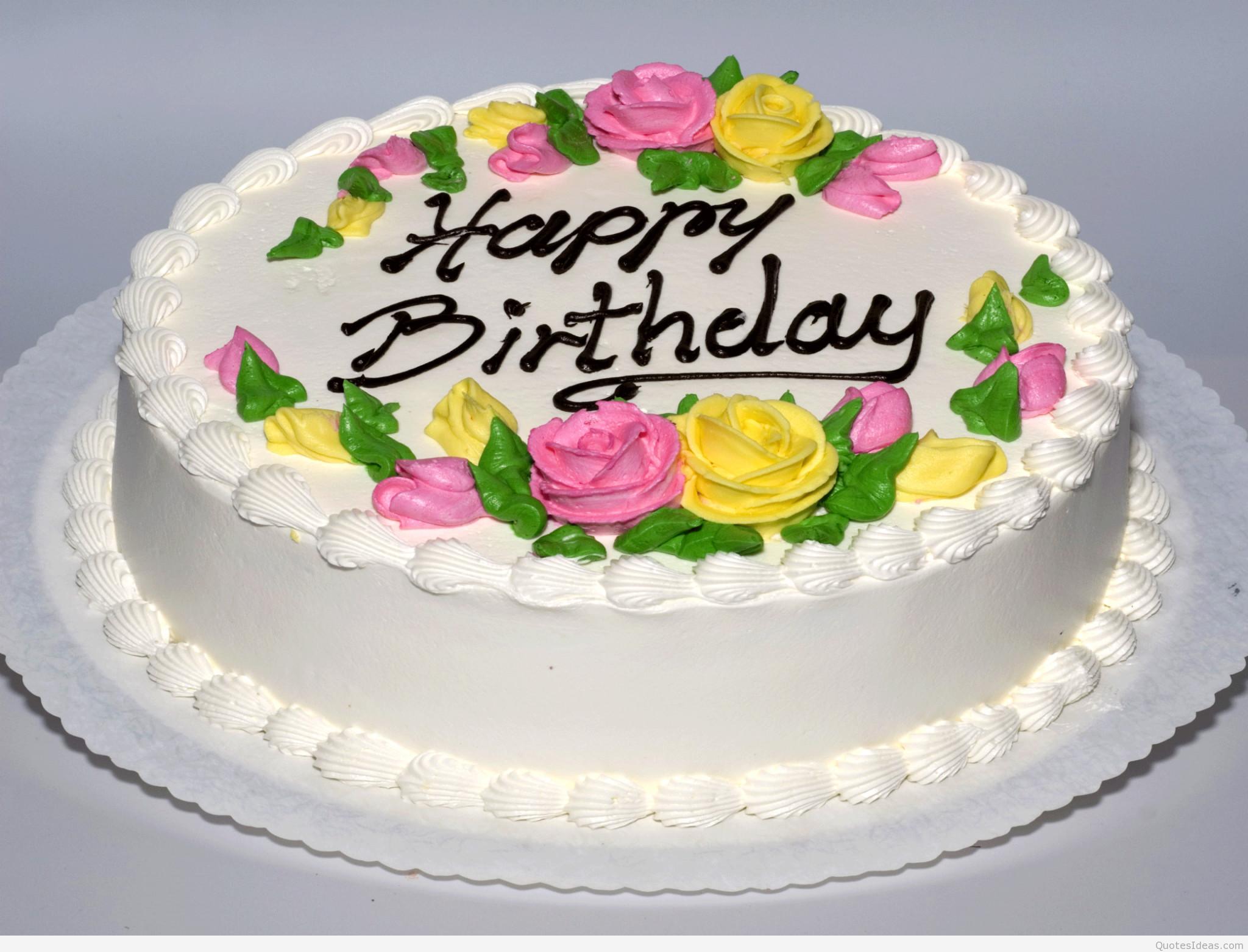 Happy Birthday Cake Image  anniversary birthday 2015