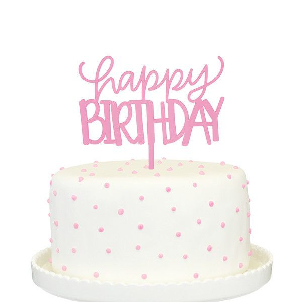 Happy Birthday Cake Topper  1000 ideas about Twin Birthday Cakes on Pinterest