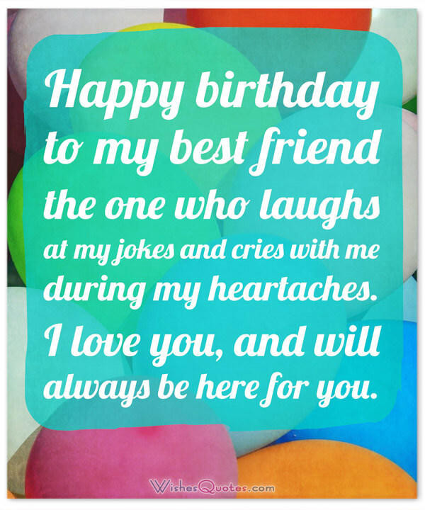 Happy Birthday Funny Best Friend  Heartfelt Birthday Wishes for your Best Friends with Cute