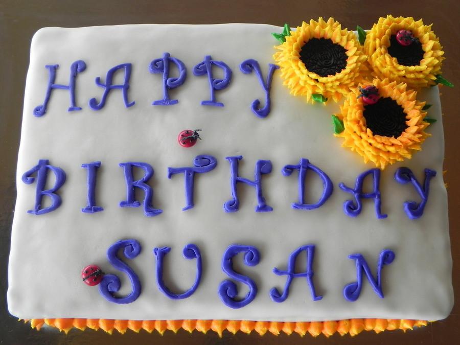 Happy Birthday Susan Cake  Happy Birthday Susan CakeCentral