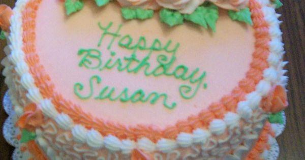 Happy Birthday Susan Cake  susan s birthday cakes