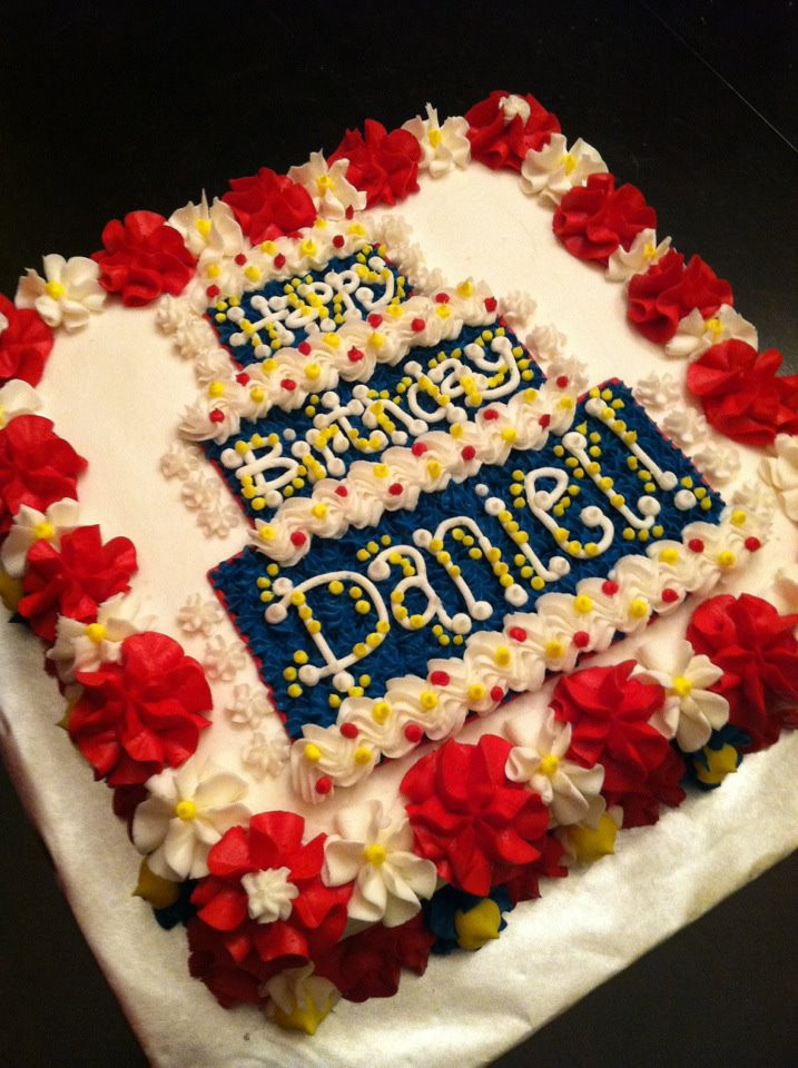 Happy Birthday Susan Cake  What I Learned from Daniel The Blog Daniel s