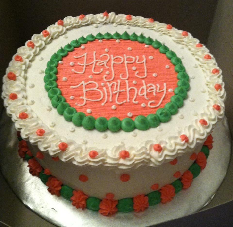 Happy Birthday Susan Cake  Sweet Treats by Susan Pink & Green Birthday Cake