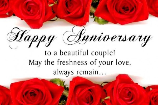 Happy Marriage Anniversary Quotes  30 Splendid and Heart Touching Wedding Anniversary Wishes