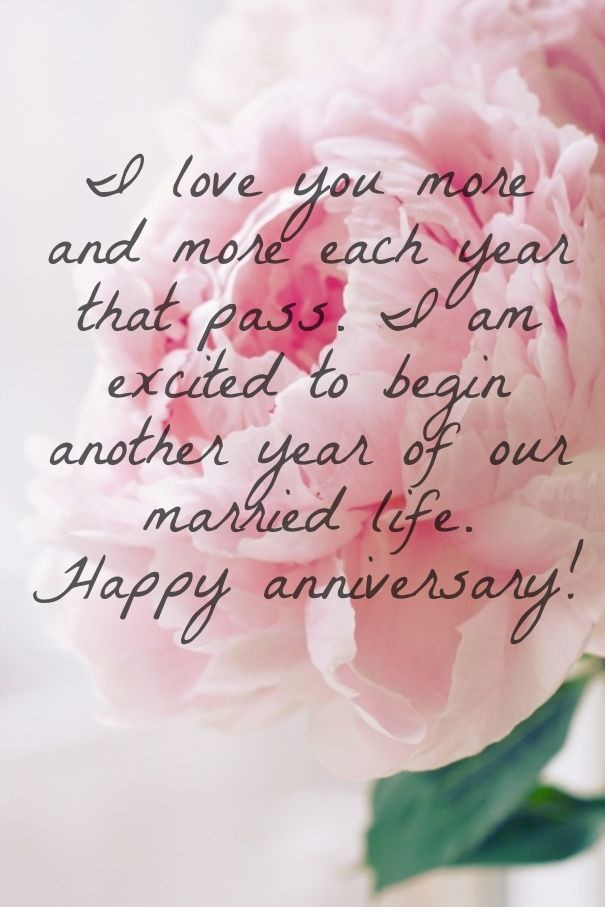 Happy Marriage Anniversary Quotes  Happy anniversary wishes for husband with love