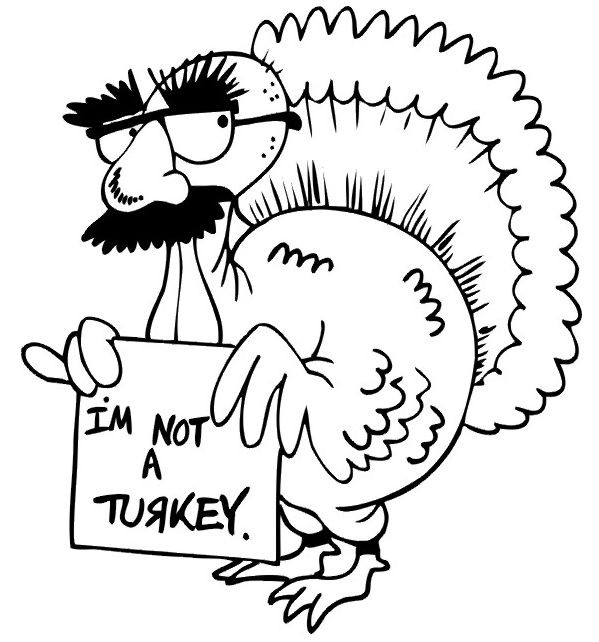 Happy Thanksgiving Coloring Pages For Boys  7 best Free Thanksgiving Coloring Pages images on