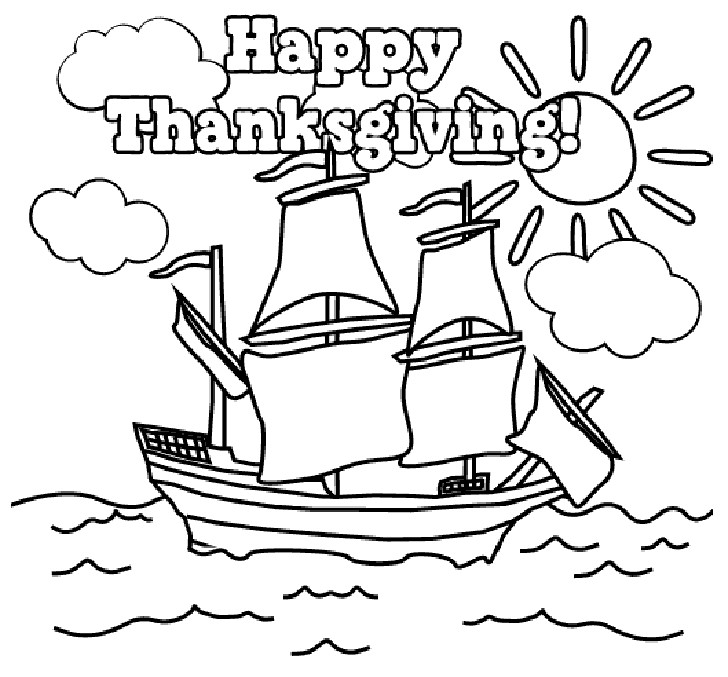 Happy Thanksgiving Coloring Pages For Boys  Thanksgiving Coloring Pages Dr Odd