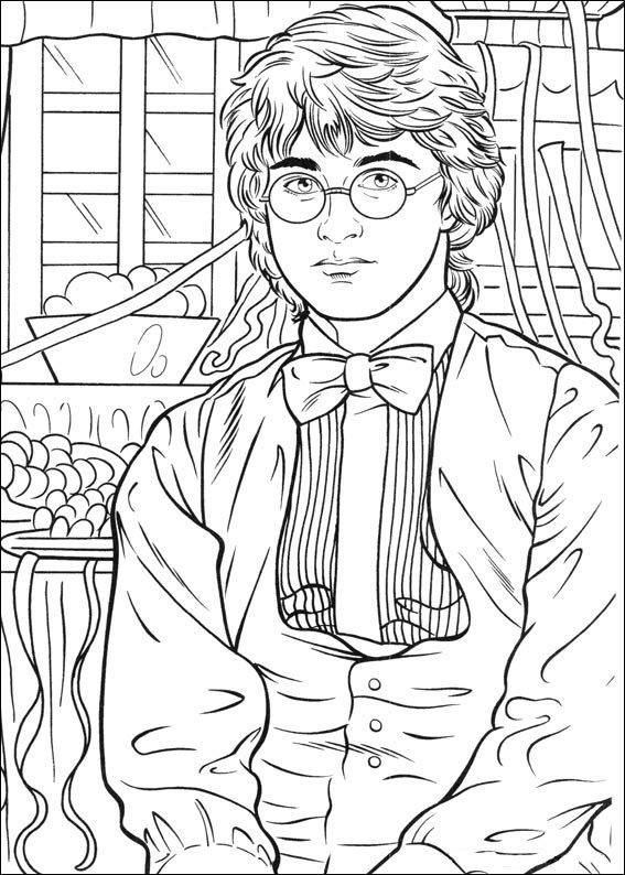 Harry Potter Coloring Pages To Print  Harry Potter Coloring Pages