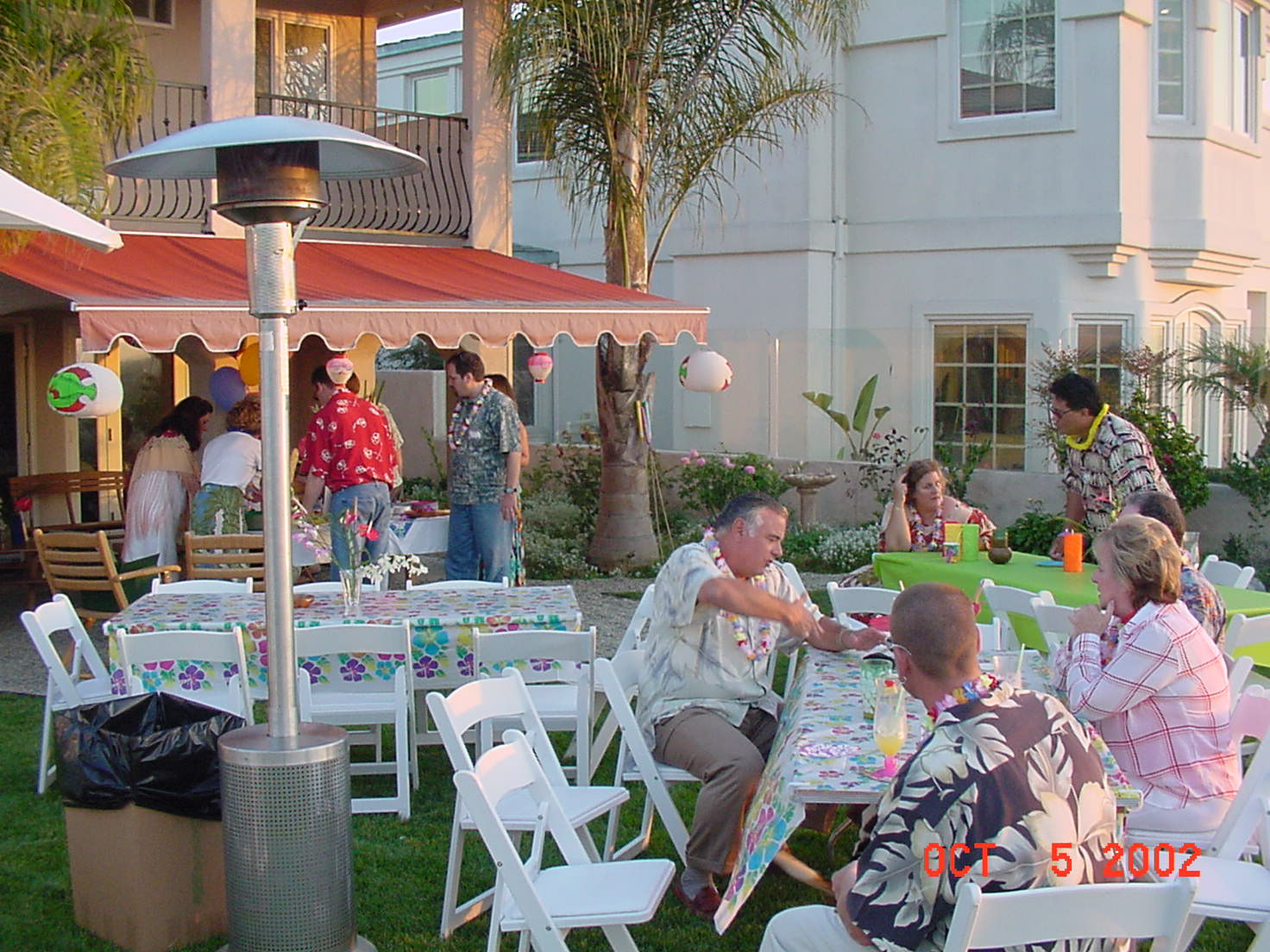 Hawaiian Backyard Party Ideas  Hawaiian Luau for a 50th Birthday Party