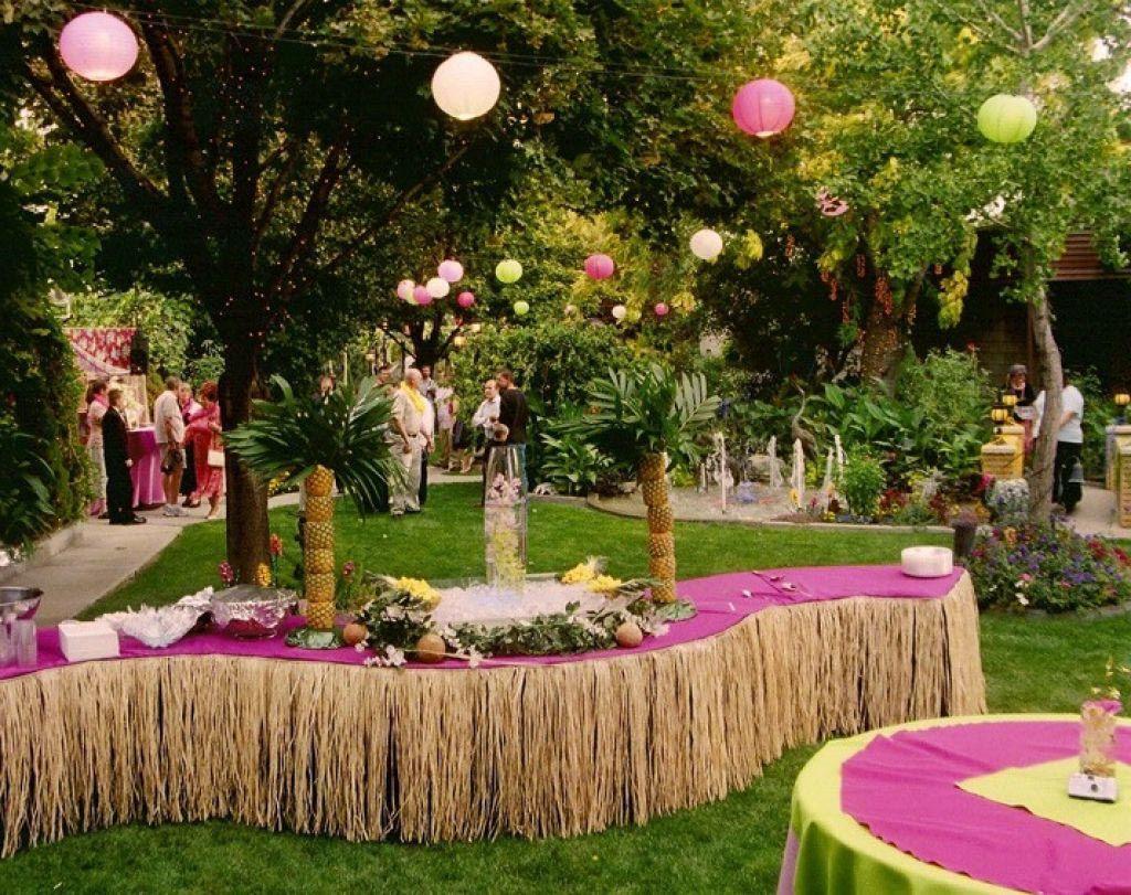Hawaiian Backyard Party Ideas  Hawaiian Party Games Adults …