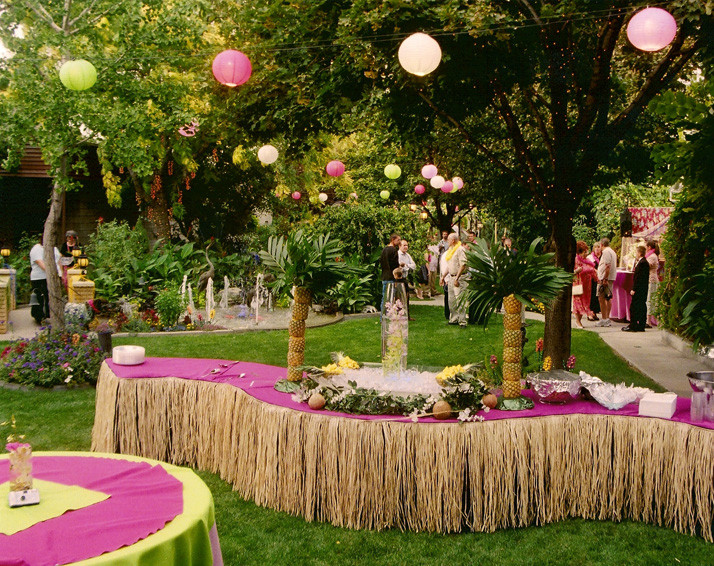 Hawaiian Backyard Party Ideas  Gallery Parties