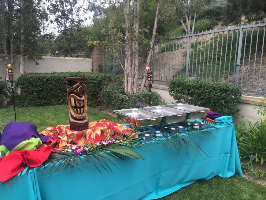 Hawaiian Backyard Party Ideas  Backyard Luau in Newport Beach
