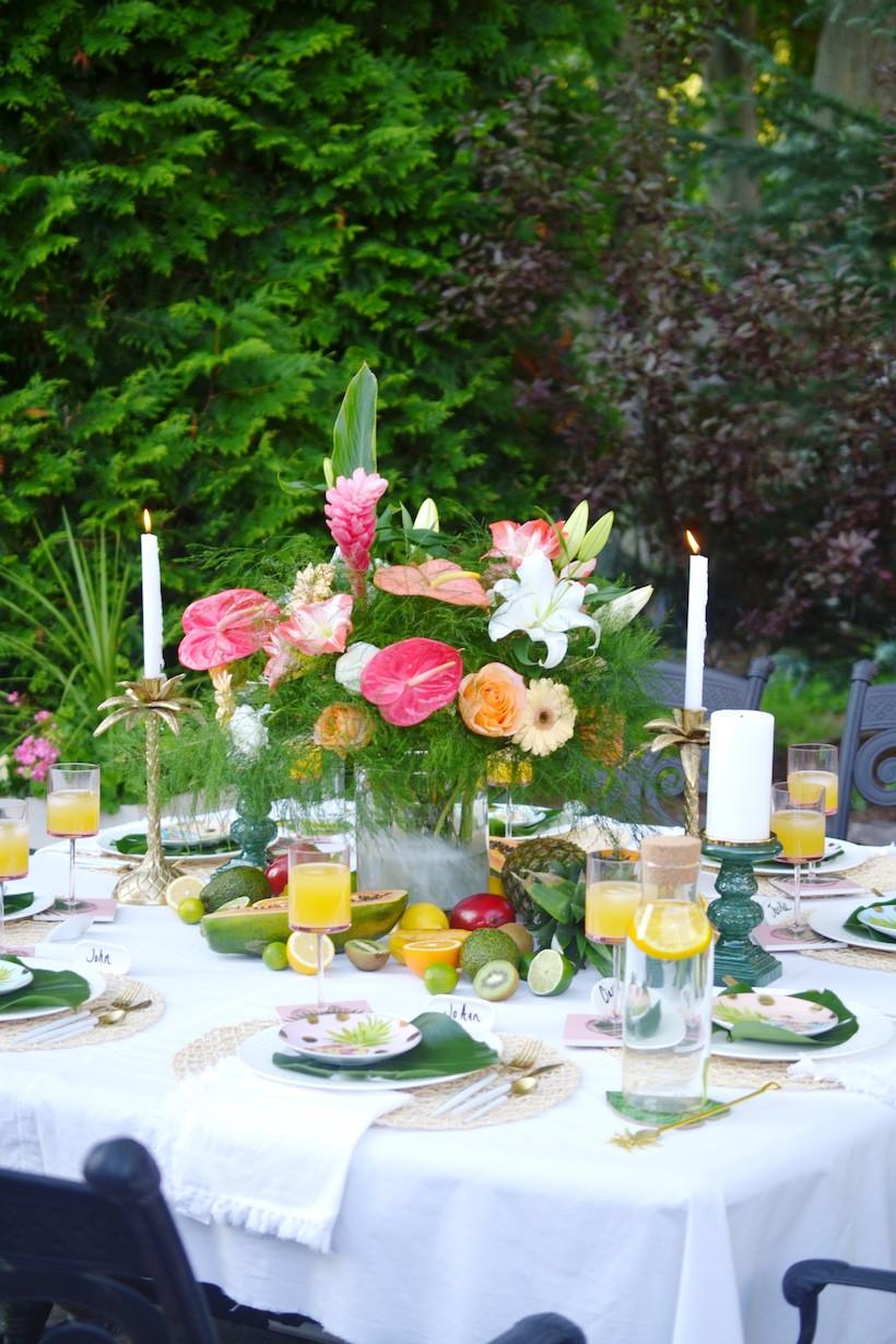 Hawaiian Backyard Party Ideas  IDEAS FOR HOSTING A BACKYARD TROPICAL THEMED DINNER PARTY