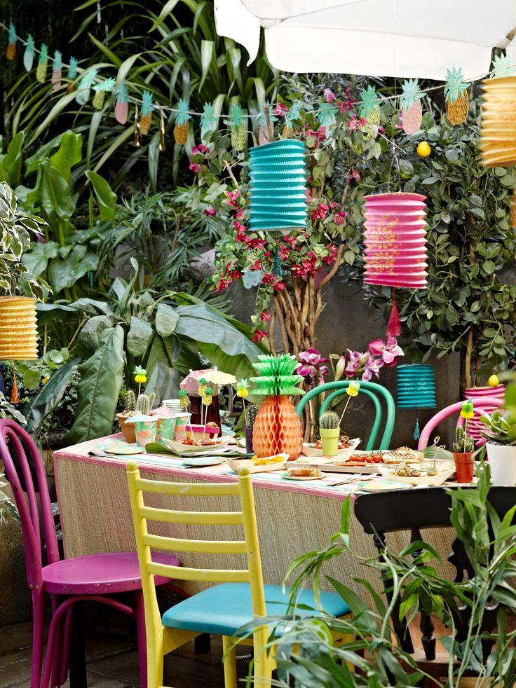 Hawaiian Backyard Party Ideas  1000 ideas about Outdoor Graduation Parties on Pinterest