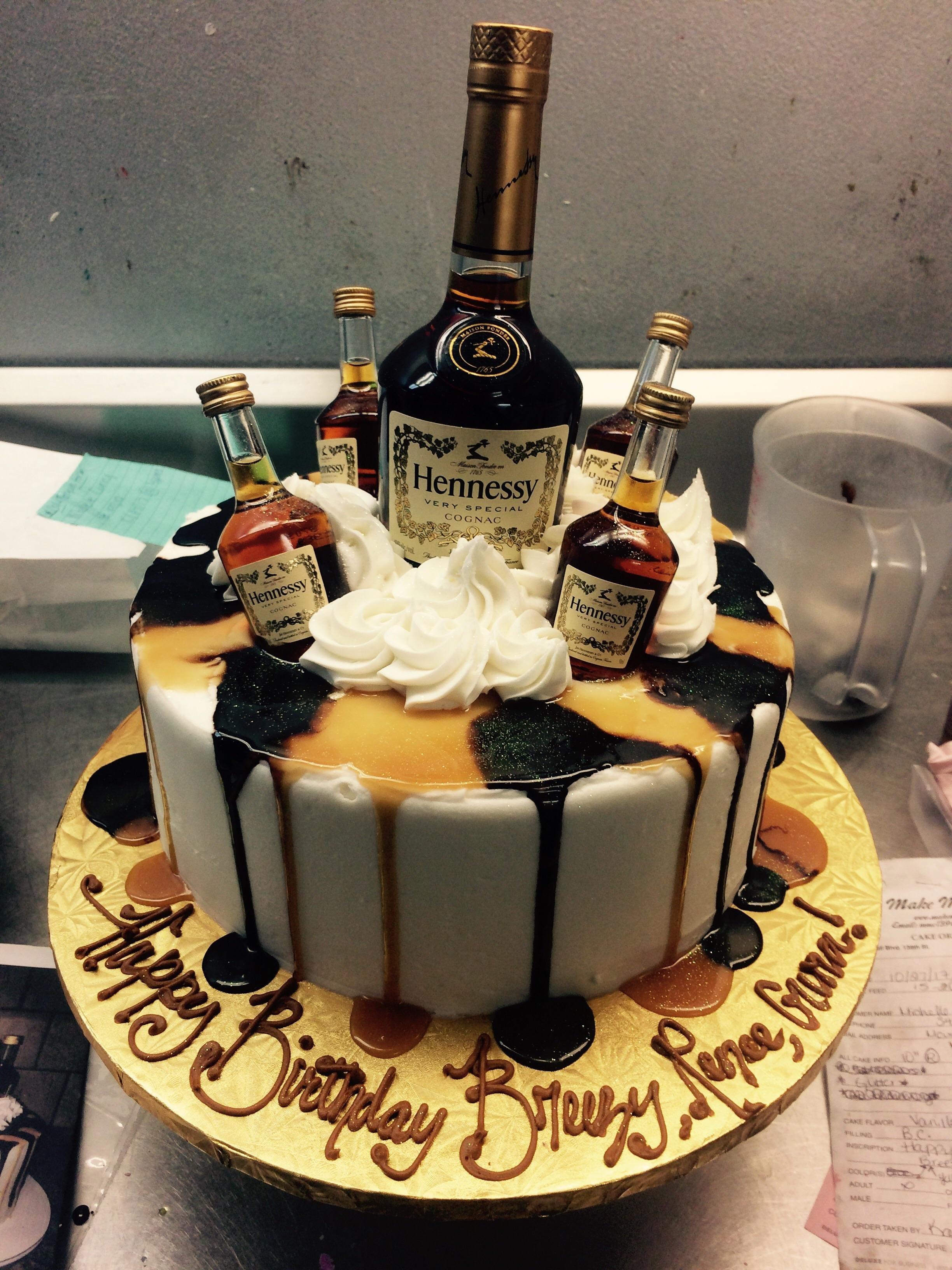 Hennessy Birthday Cake  Hennessey Cake Cakes
