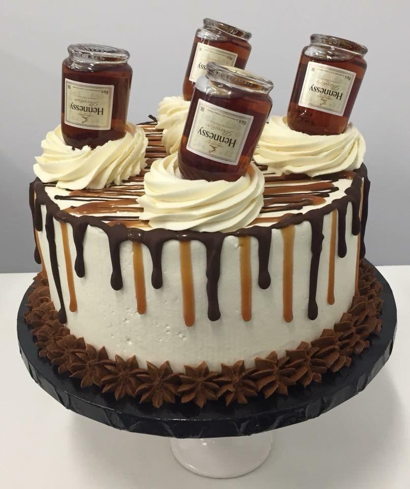 Hennessy Birthday Cake  Sacramento Creative Cake Series 1 Hennessy