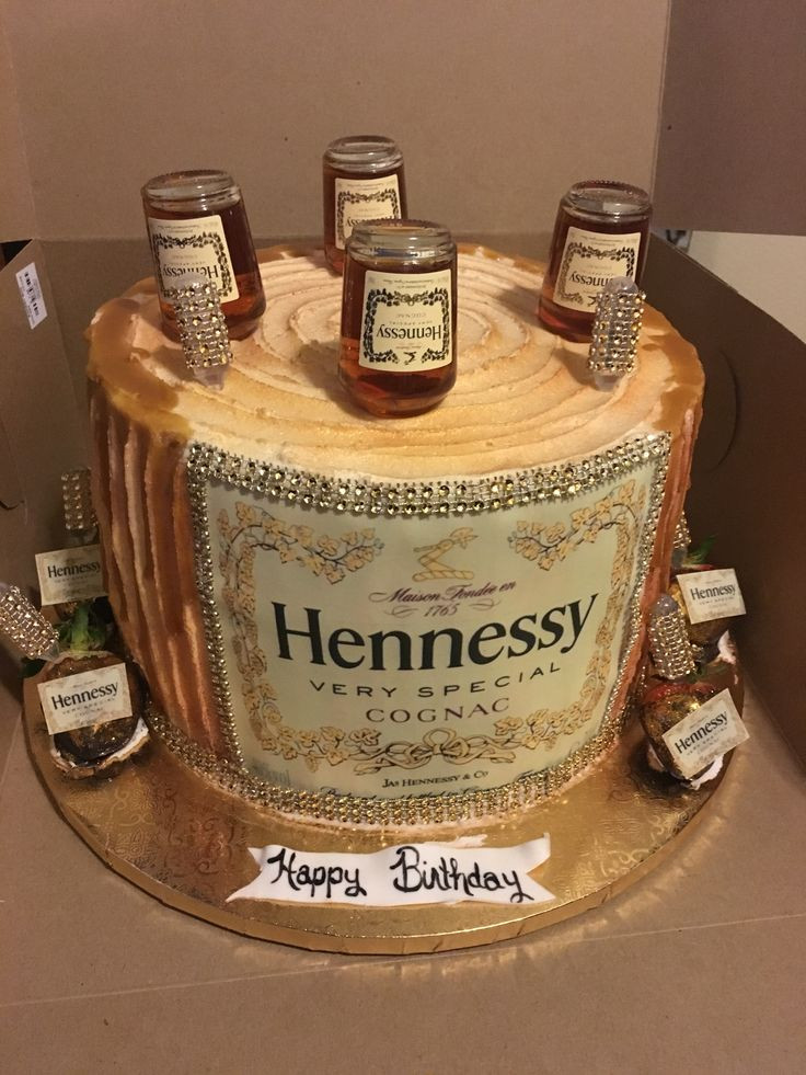 Hennessy Birthday Cake  152 best Krystals Kreations images on Pinterest