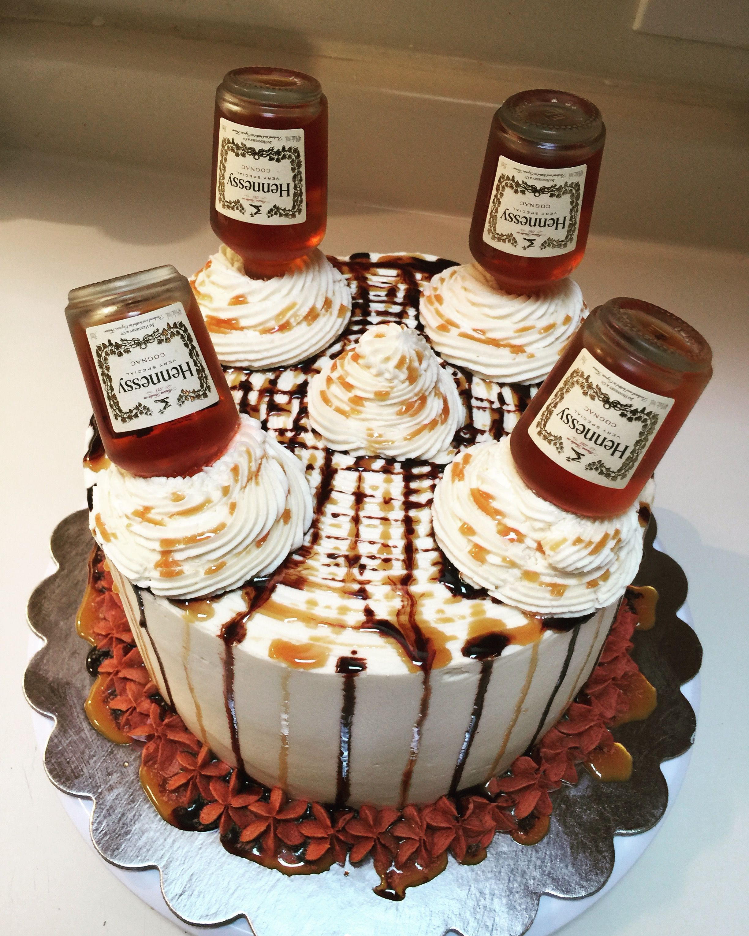 Hennessy Birthday Cake  Hennessy Cake Ms Ragin s Sweets in 2019