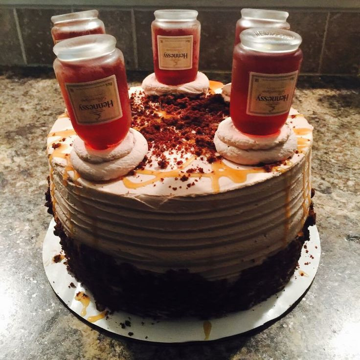 Hennessy Birthday Cake  25 best ideas about Hennessy Cake on Pinterest