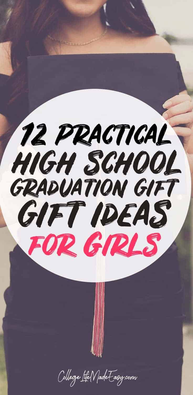 High School Graduation Gift Ideas For Her  12 Original & Inexpensive High School Graduation Gifts