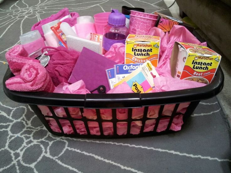High School Graduation Gift Ideas For Her  High School Graduation t basket for my niece Kierra A