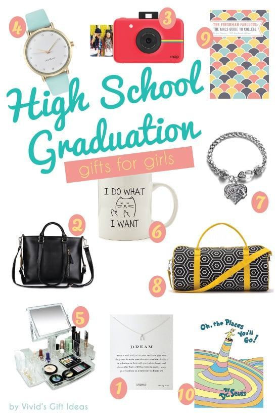 High School Graduation Gift Ideas For Her  2016 High School Graduation Gift Ideas for Girls Vivid s
