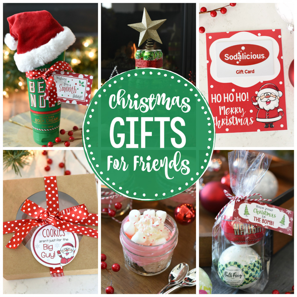 Holiday Gift Ideas For Friends  Good Gifts for Friends at Christmas – Fun Squared