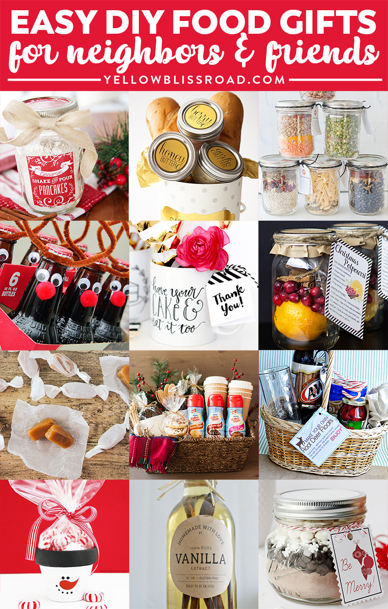 Holiday Gift Ideas For Friends  Bud Gifts Ideas for Friends and Neighbors Homemade