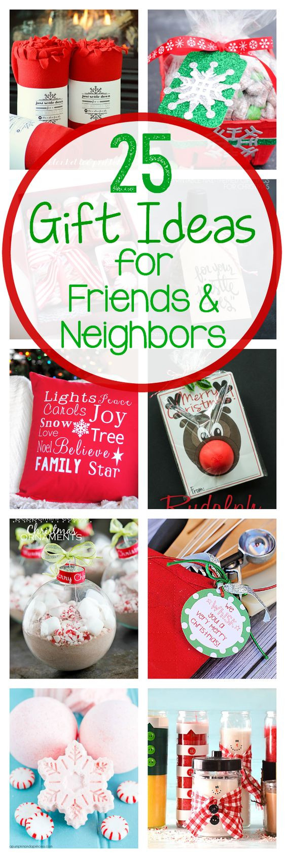 Holiday Gift Ideas For Friends  25 Gift Ideas for Friends & Neighbors