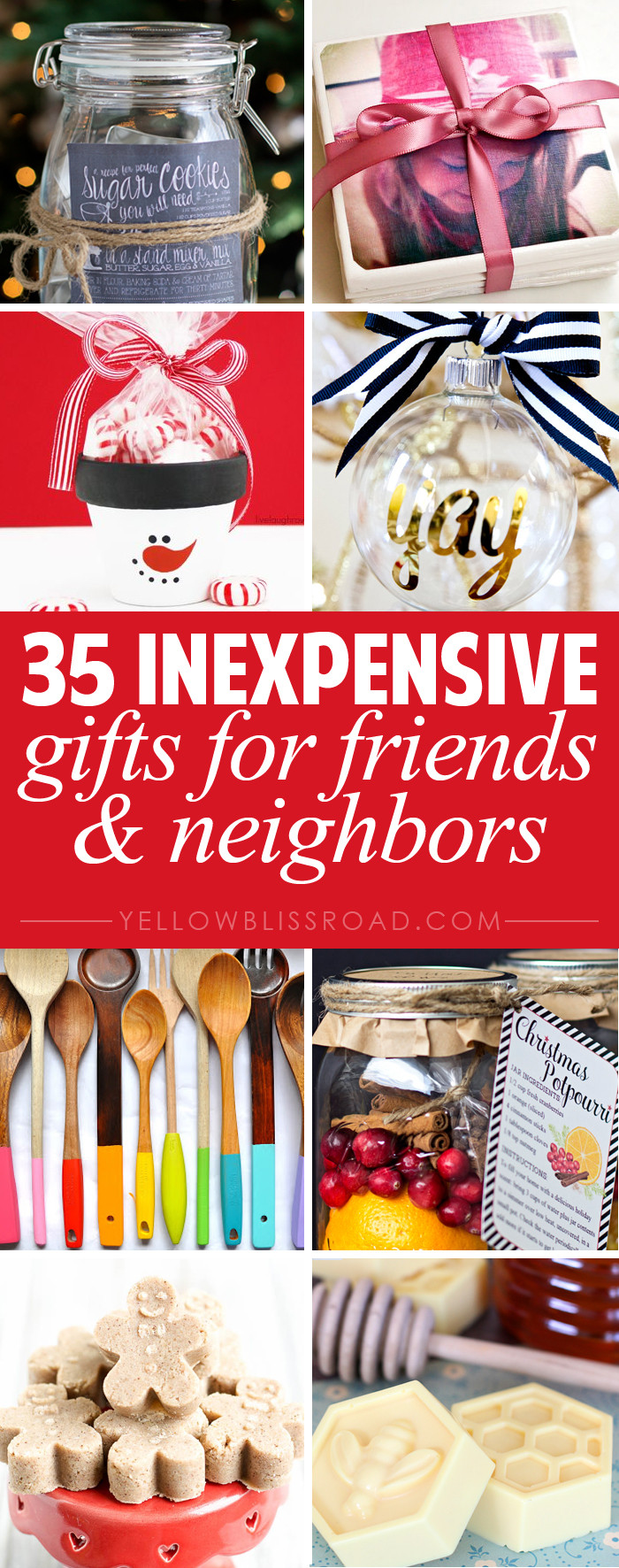 Holiday Gift Ideas For Friends  35 Gift Ideas for Neighbors and Friends Yellow Bliss Road