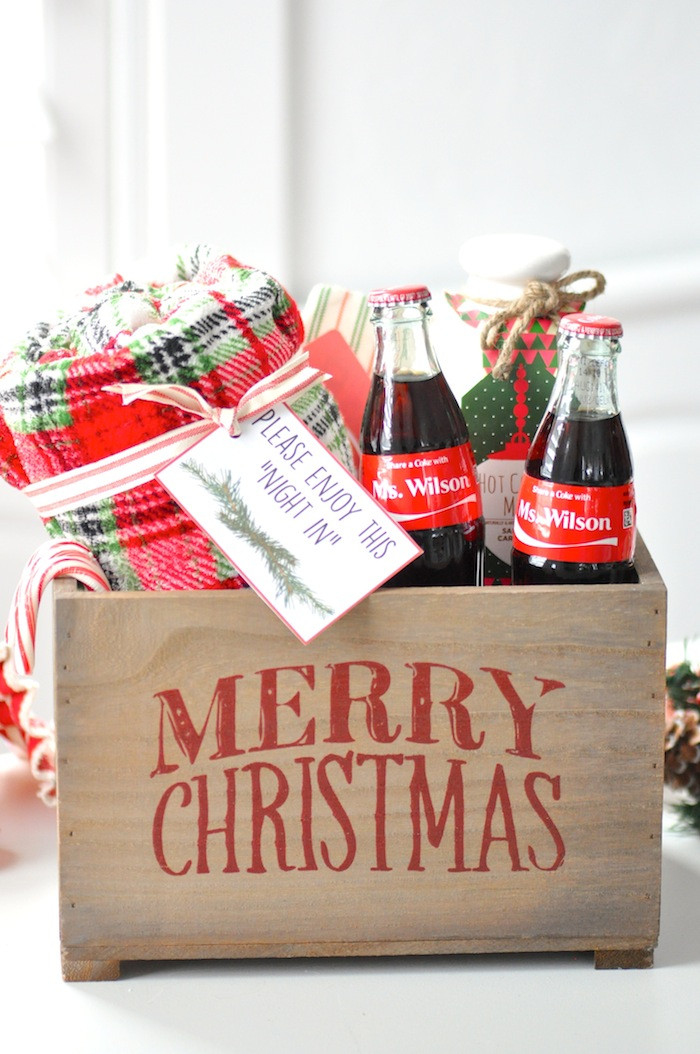 Holiday Party Gift Ideas  Kara s Party Ideas Teacher Christmas Gift Idea Giveaway