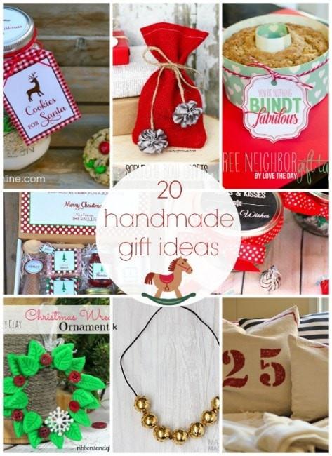 Holiday Party Gift Ideas  101 inexpensive handmade Christmas ts I Heart Nap Time