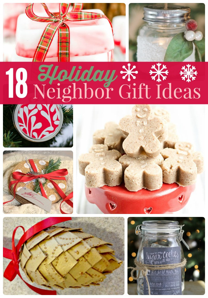 Holiday Party Gift Ideas  Great Ideas 18 Holiday Neighbor Gifts