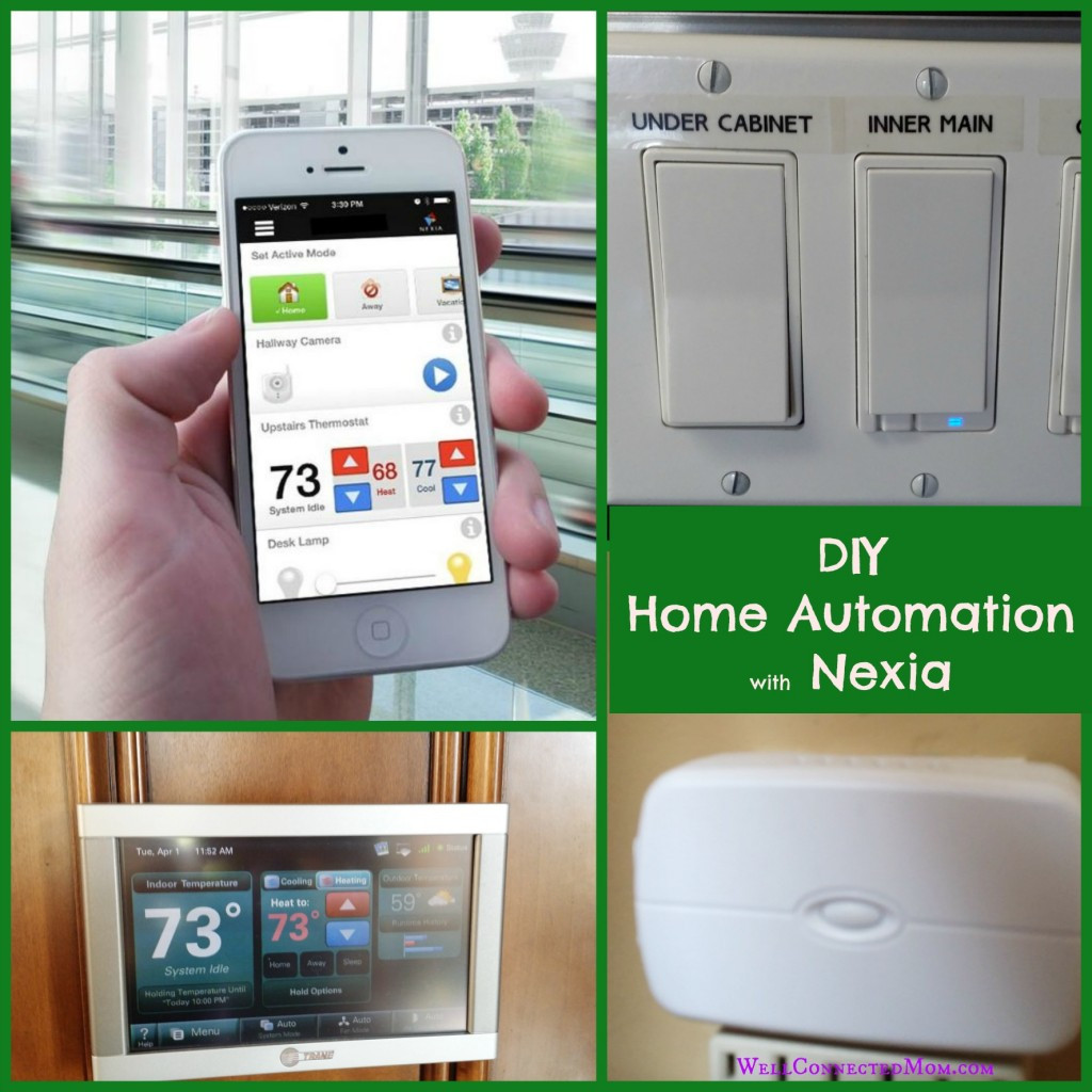 Home Automation DIY  DIY Home Automation with Nexia The Well Connected Mom