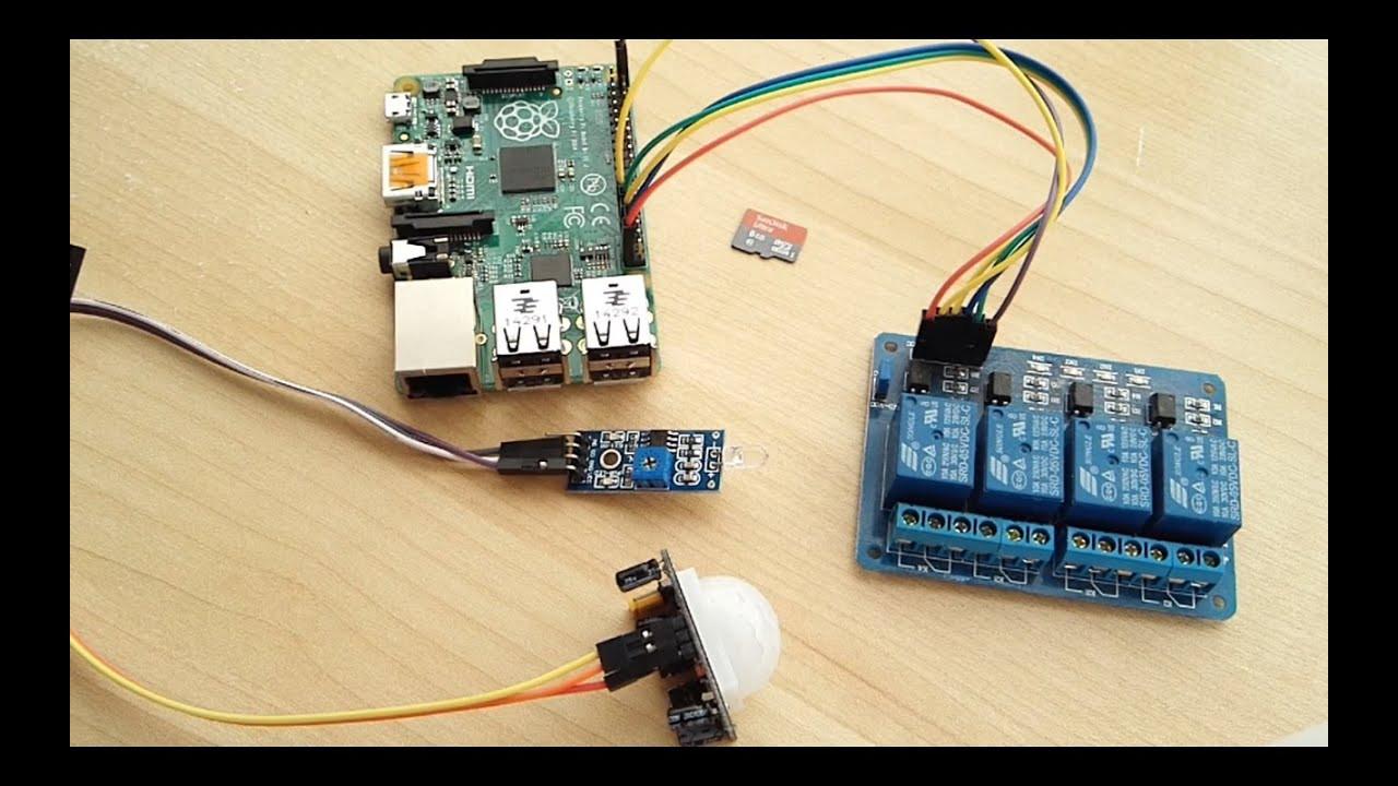 Home Automation DIY  DIY Home Automation Raspberry Pi Tutorial