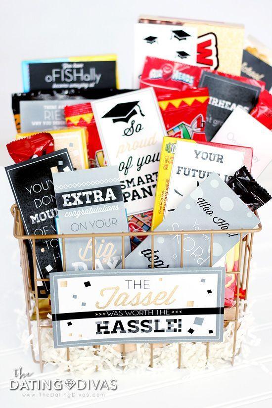 Homemade Graduation Gift Basket Ideas  Best 25 Graduation t baskets ideas on Pinterest