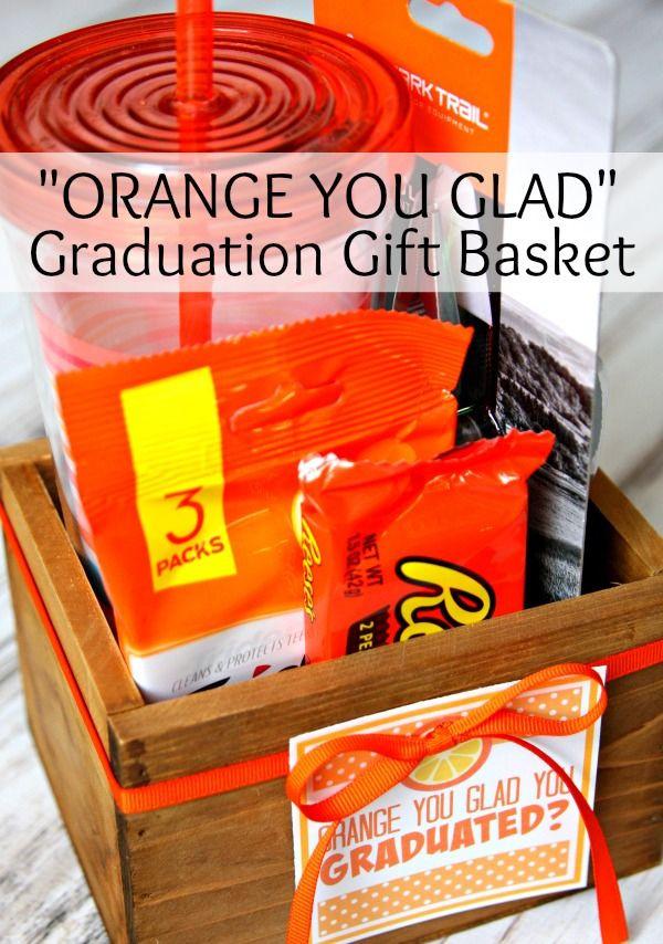 Homemade Graduation Gift Basket Ideas  25 best ideas about Graduation Gift Baskets on Pinterest
