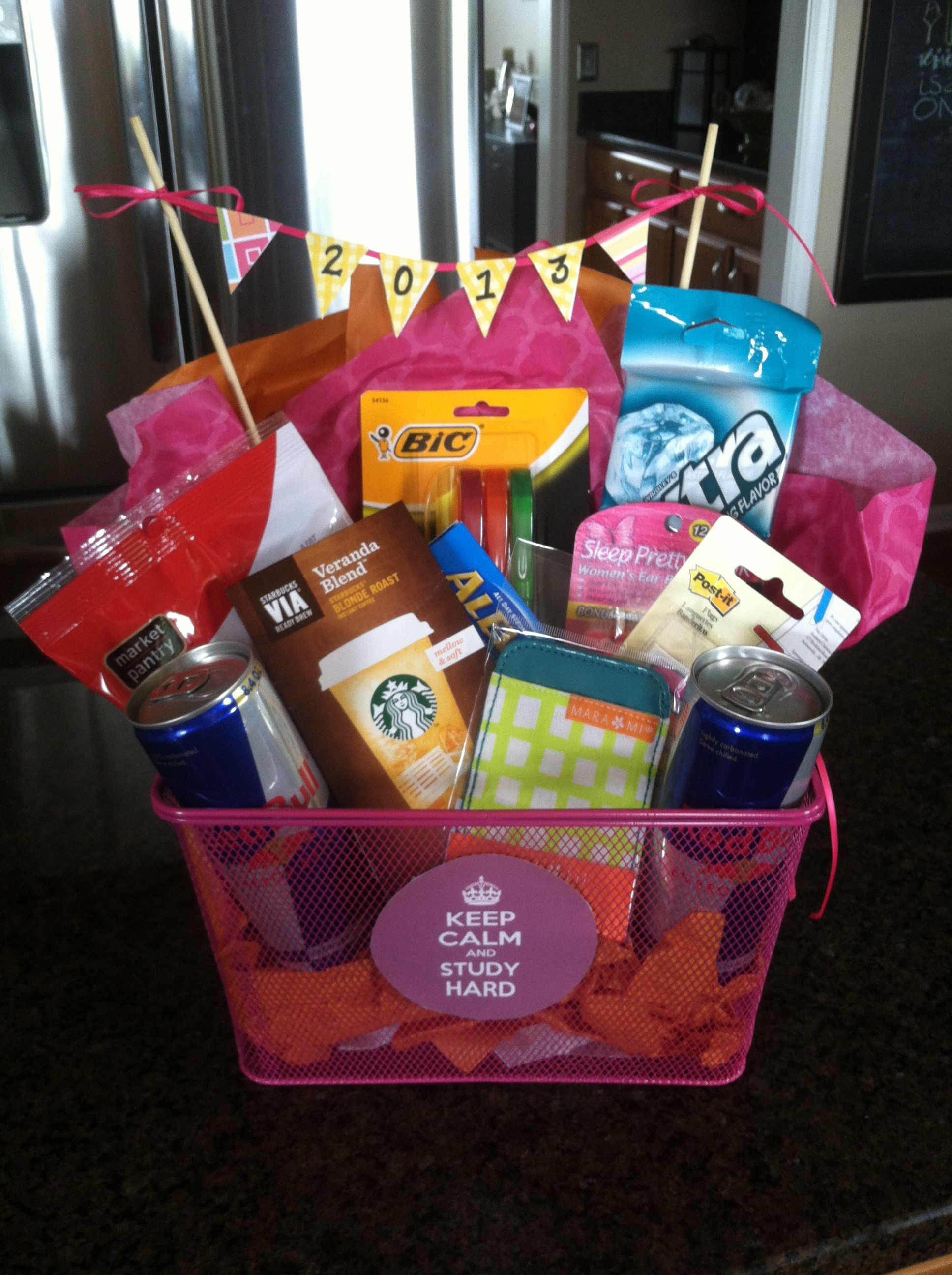 Homemade Graduation Gift Basket Ideas  Graduation t basket What all students need