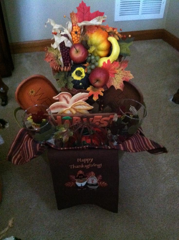 Homemade Thanksgiving Gift Basket Ideas  29 best homemade thanksgiving ts images on Pinterest