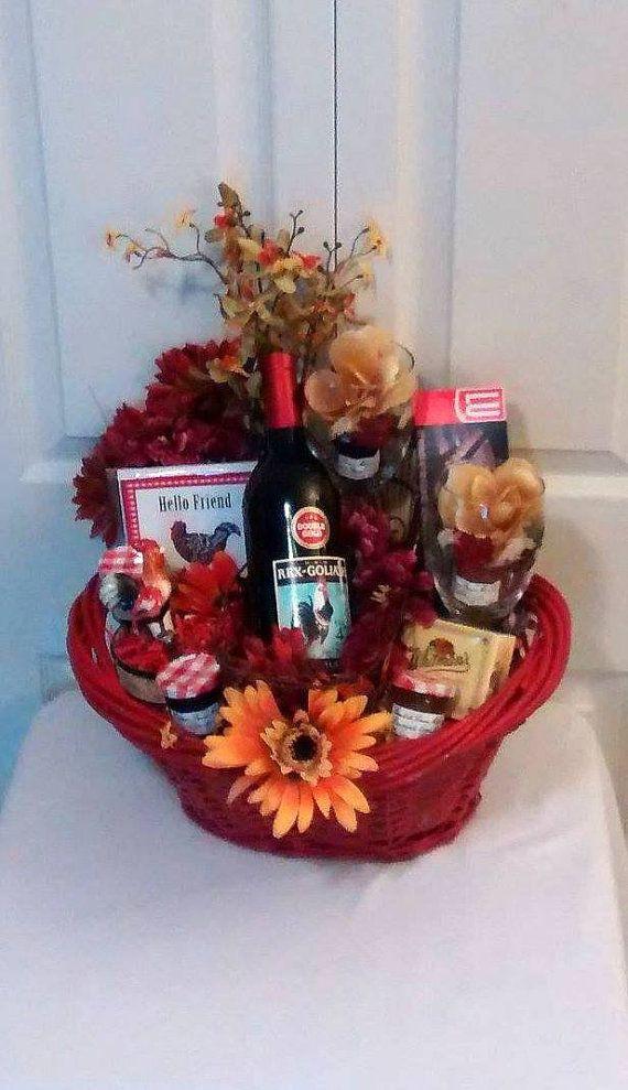 Homemade Thanksgiving Gift Basket Ideas  48 best images about Fall Thanksgiving Day Gift Baskets on