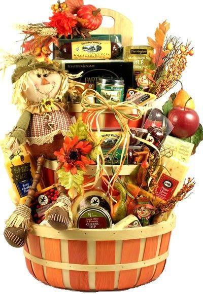 Homemade Thanksgiving Gift Basket Ideas  Fall Harvest Gift Basket