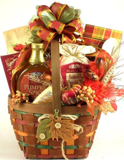 Homemade Thanksgiving Gift Basket Ideas  Pin by LittleGiftBasketBoutique on Thanksgiving Fall