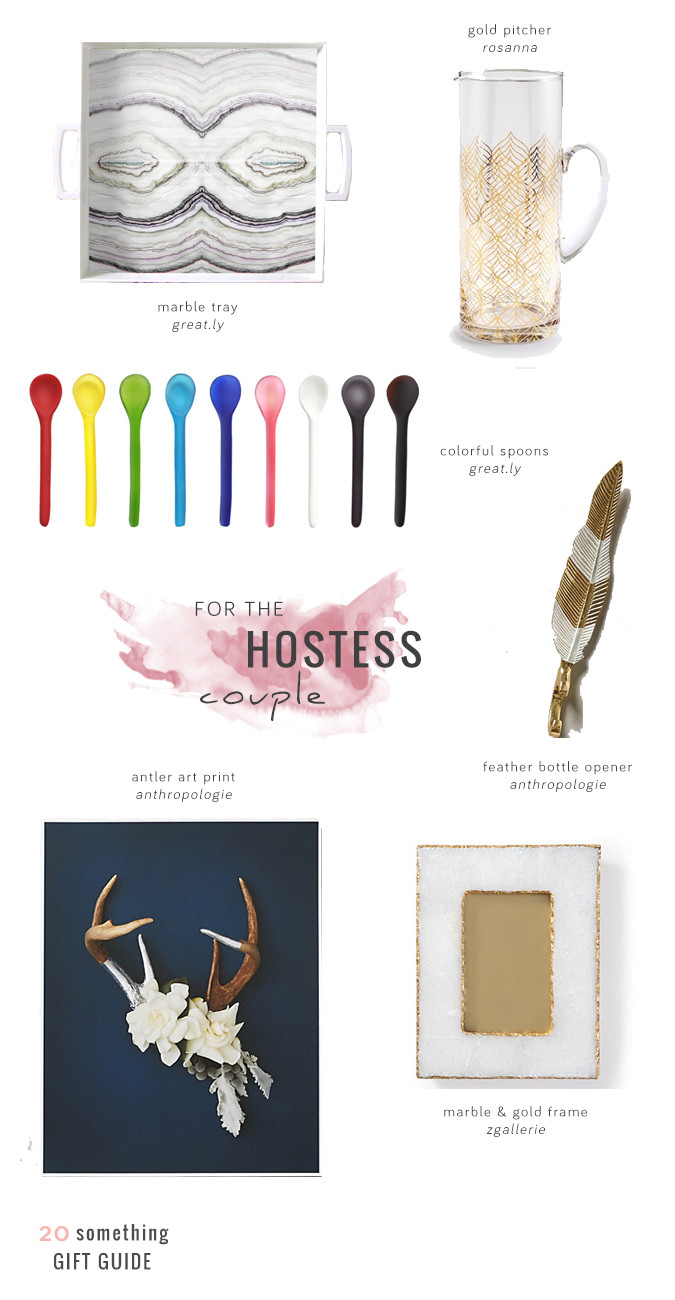 Host Gift Ideas For Couples  Gift Guide For the Hostess Couple