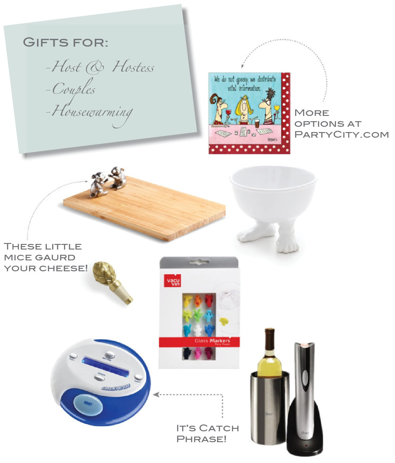 Host Gift Ideas For Couples  2012 Holiday Gift Guide 2 Hostess Housewarming Couple