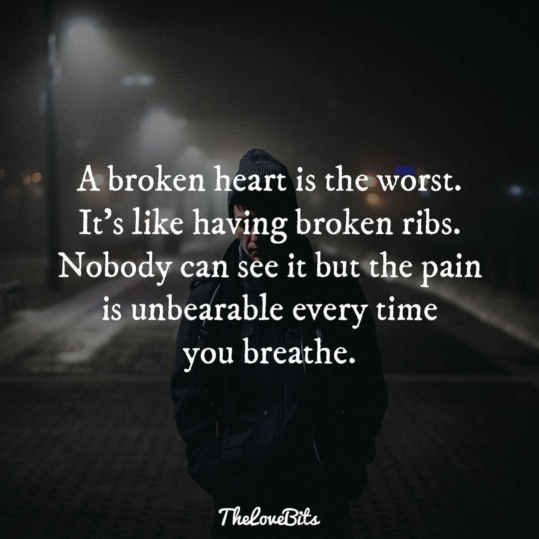Hurting Marriage Quotes  50 Broken Heart Quotes to Help You Soothe the Pain