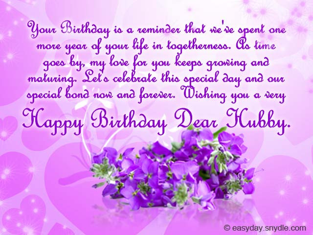 Husband Birthday Card Messages  Birthday Messages for Your Husband Easyday