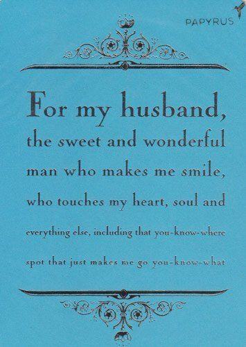 "Husband Birthday Card Messages  Greeting Card Birthday ""For My Husband the sweet and"